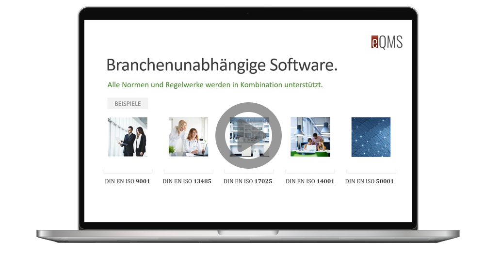 eQMS - QM Software Video Tour, QM-Handbuch, Dokumentenlenkung, Qualitätsmanagement